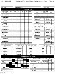 NHM Order Form